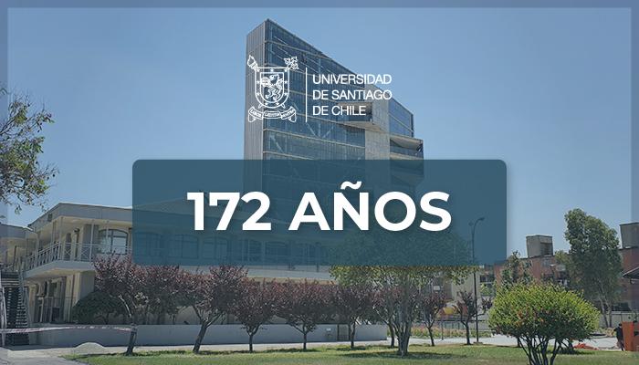 Universidad de Santiago de Chile celebra su aniversario 172