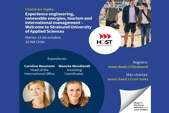 Servicio Alemán de Intercambio Académico invita a estudiantes del MBA a participar de charla para movilidad con universidades alemanas